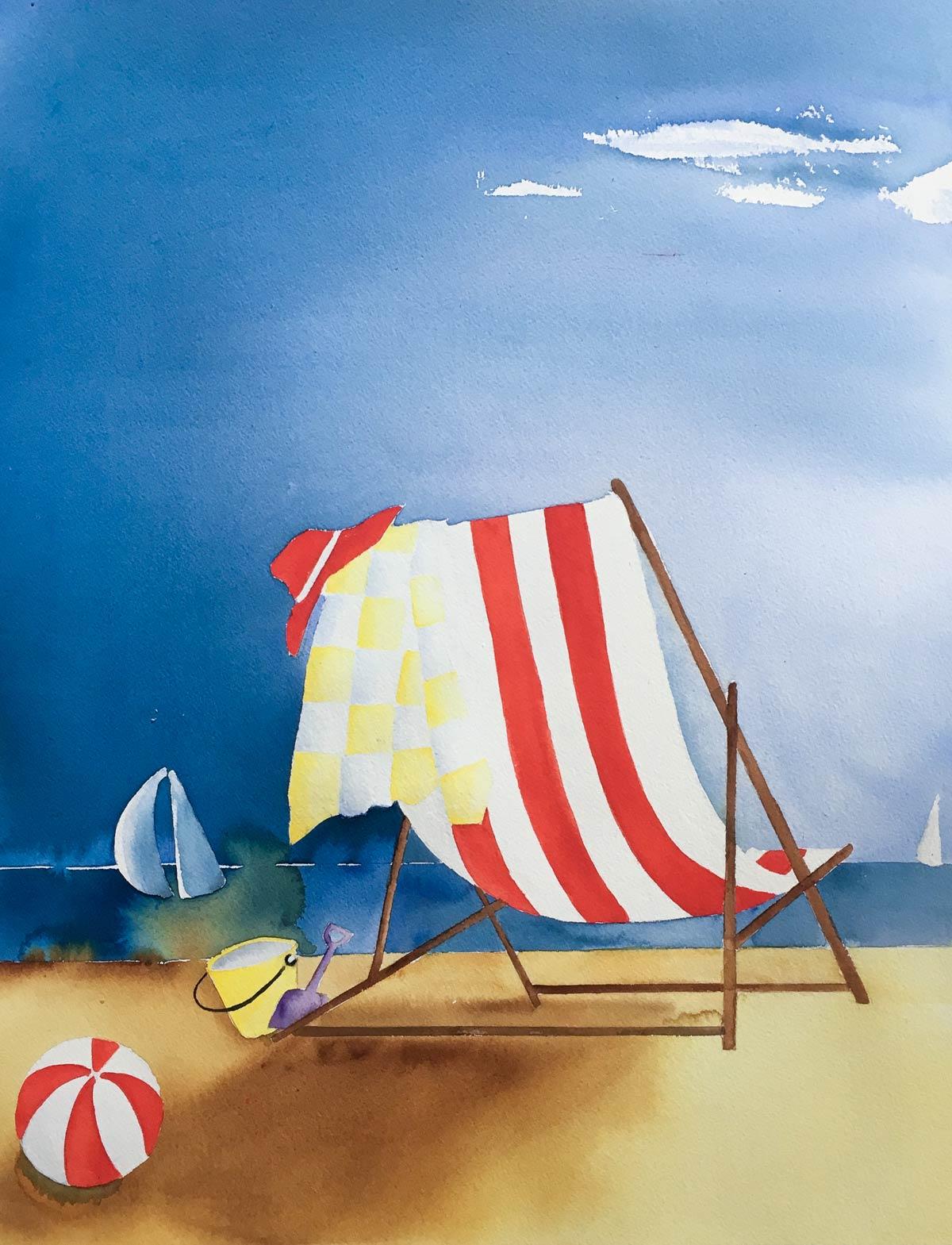 Sommar, Puck Jansson, konstnär
