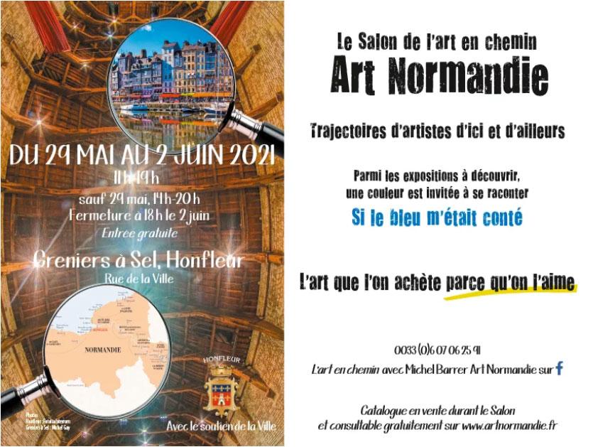 Puck Jansson, konstnär, Utställning Normandie, maj 2021
