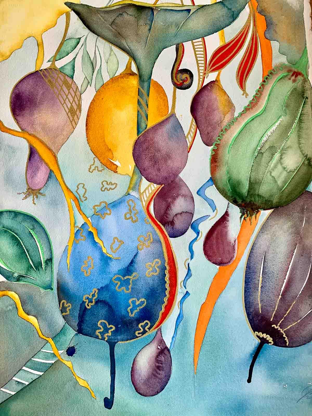 Frutas turquesa, Puck Jansson, konstnär